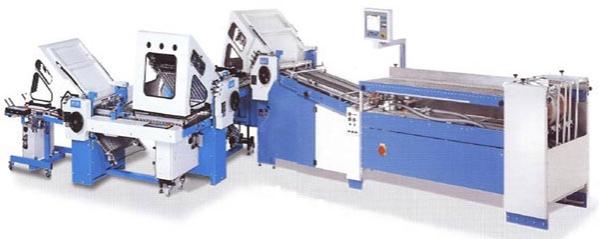Folding Machine by GUK Wellendingen (Germany)