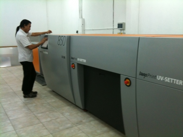 Kuwait : Global Graphics Successfully Installed Multi Cassette Fully Automatic BasysPrint CTcP  with Online Haase OE47 Processor in Masaied Printing Press
