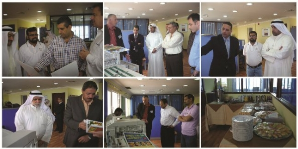 Kuwait : Global Graphics Open House for Xante Ilumina Launch & Announce Dealership in Kuwait