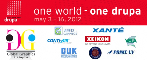 Dusseldorf Germany : Global Graphics Activities in DRUPA 2012 – A relevant experience to know the changes in printing industry